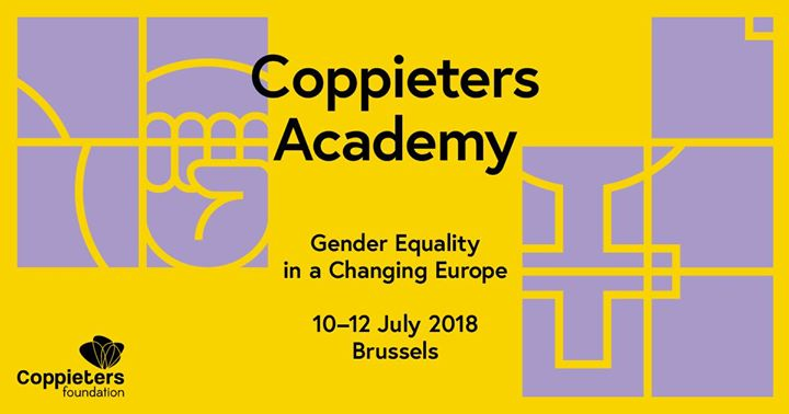 Coppieters Academy 2018 Gender equality in a changing Europe