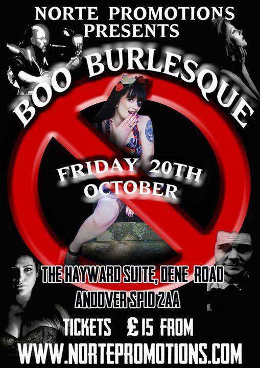 BOO Burlesque - An Evening of Burlesque & Cabaret