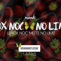 LENOX NOC meets NO LIMIT - 28.04 - Club Essence [ ESSEN ]
