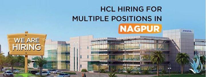 Walk In On 10 Feb Hcl Mihan Nagpur At Hcl Technologies