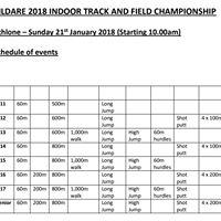 Kildare County Indoor Championships
