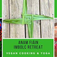 Imbolc Vegan Cooking and Yoga Retreat