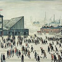 L.S. Lowry Exhibition at Whitewall Winchester