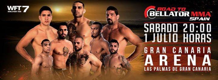 Road to Bellator MMA en el Gran Canaria Arena