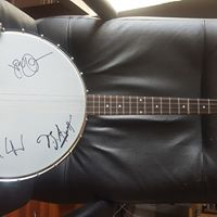 Online Auction Banjo Signed by The Avett Brothers