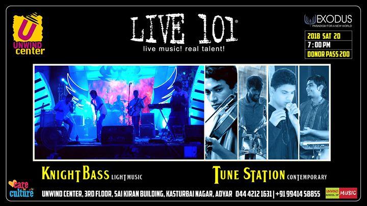 Live 101  Knight Bass & Tune Station