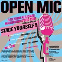 Gran Concorso Open Mic TIcino - Il Microfono dOro
