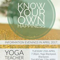 Yoga Teachers Training Information Evening