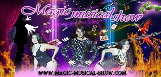 Magic musical show