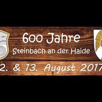 600 Jahre SteinbachHaide &amp HAMMELKEGELN