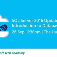 Tech Forum-SQL Server 2016 Update and Intro to Database on Azure