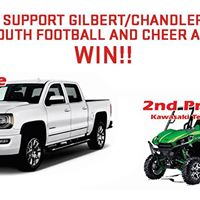 GilbertChandler Youth Football and Cheer Fundraising Raffle
