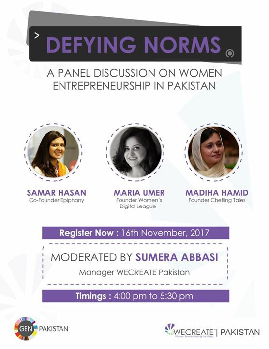 Defying Norms A Panel Discussion On Women Entrepreneurship