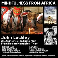 Mindfulness From Africa - A Daylong of Practice
