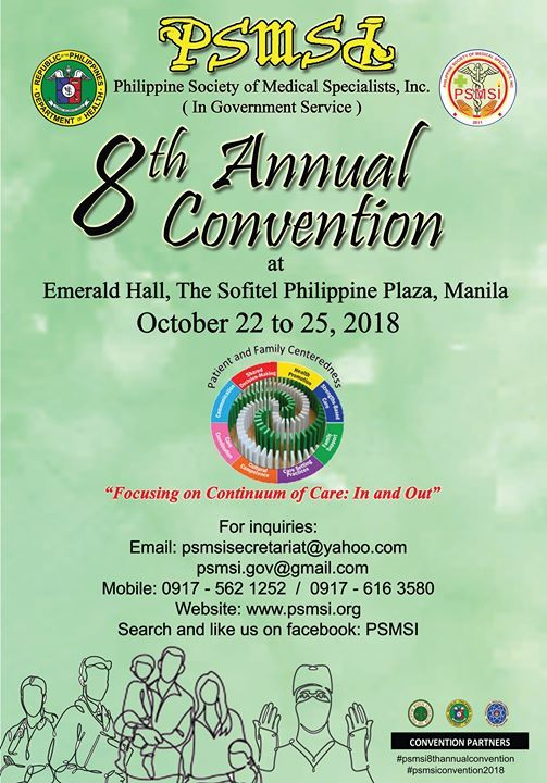 PSMSI 8th Annual Convention