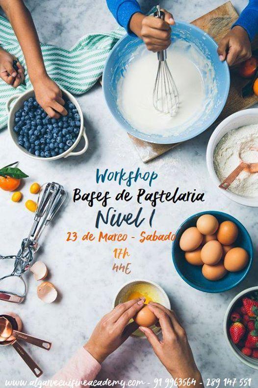 Workshop Bases de Pastelaria Nvel I [Completo]