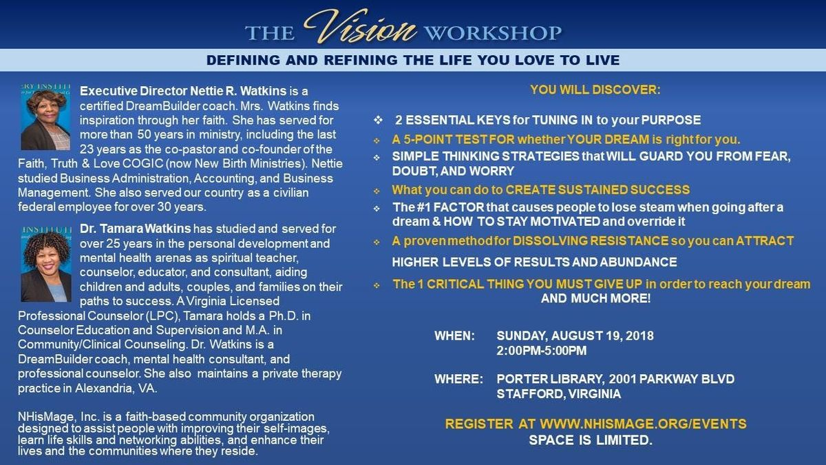 Visioning A Lasting New You Defining and Refining the Life You Love