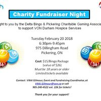 Charity Bingo Fundraising Night