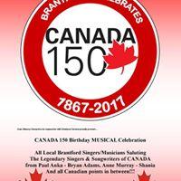Brantford Celebrates Canada 150