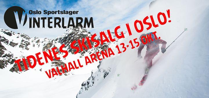 Vinterlarm 2017 Tidenes Skisalg i Oslo