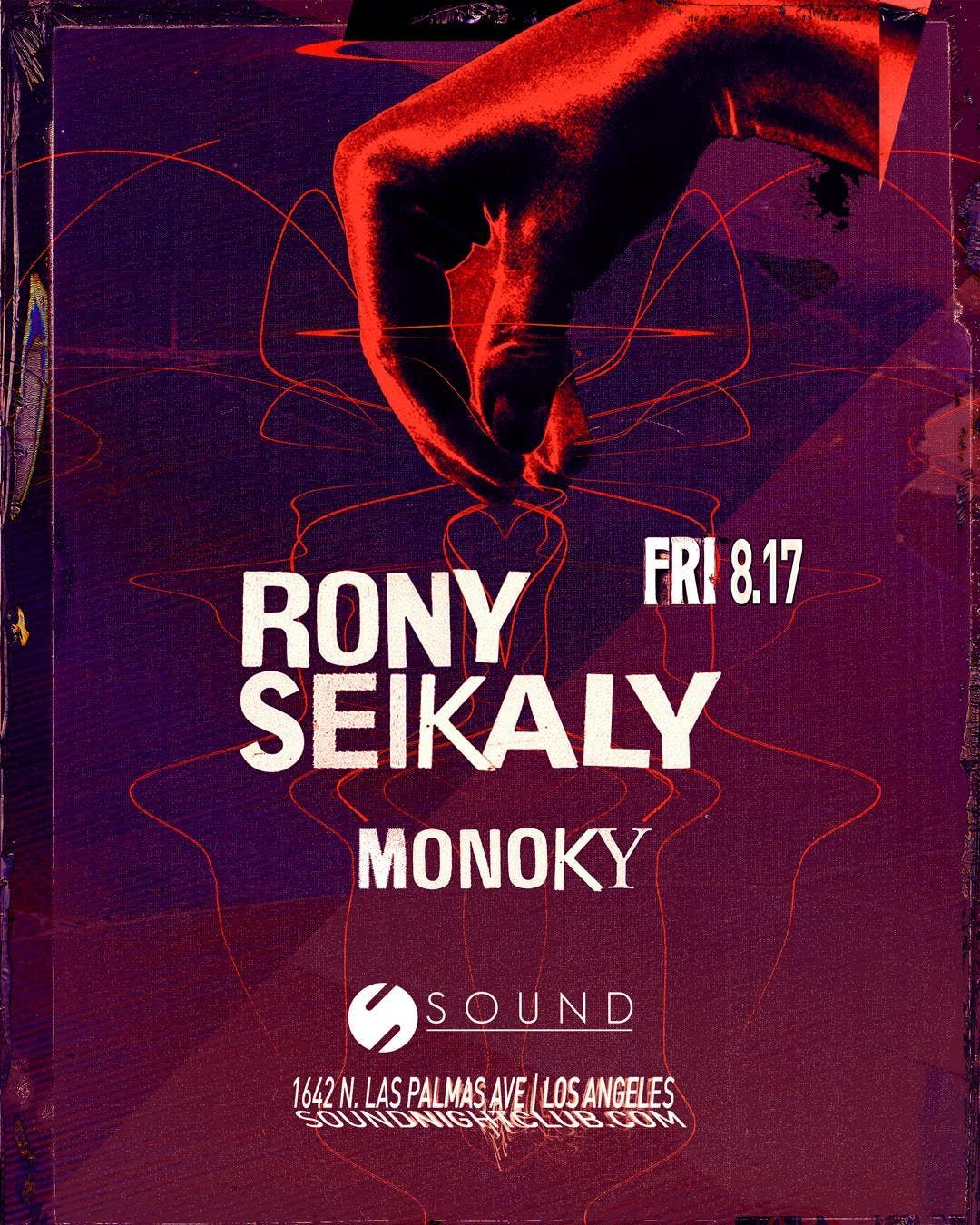 Sound presents Rony Seikaly & Monoky