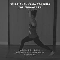 Functional Yoga Training