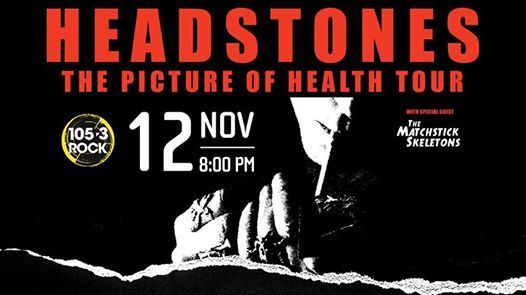 Headstones with special guests The Matchstick Skeletons