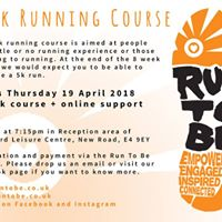 0-5k Running Course Chingford PM April