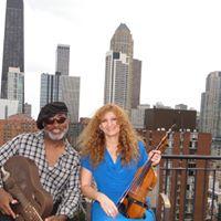 Inna Melnikov &amp Fruteland Jackson playing Chicago Blues