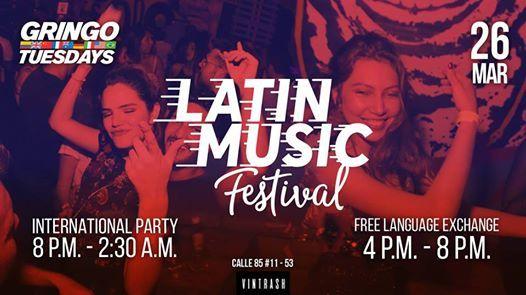 Latin Music Festival en Gringo Tuesdays