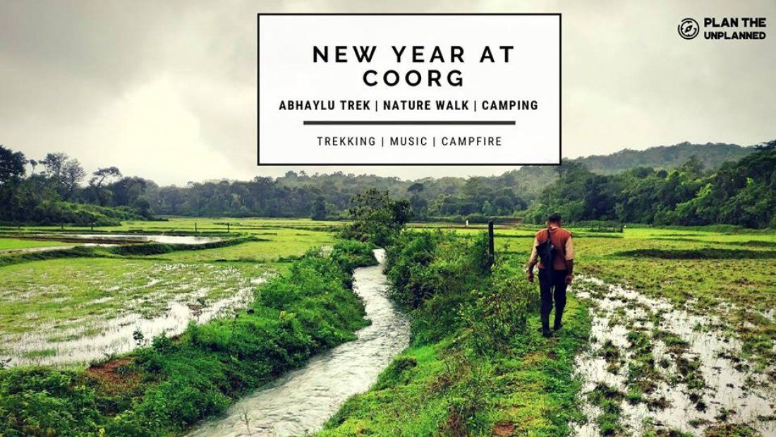 New Year Camping and celebrations at Coorg