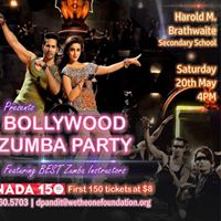 Bollywood themed ZUMBA PARTY