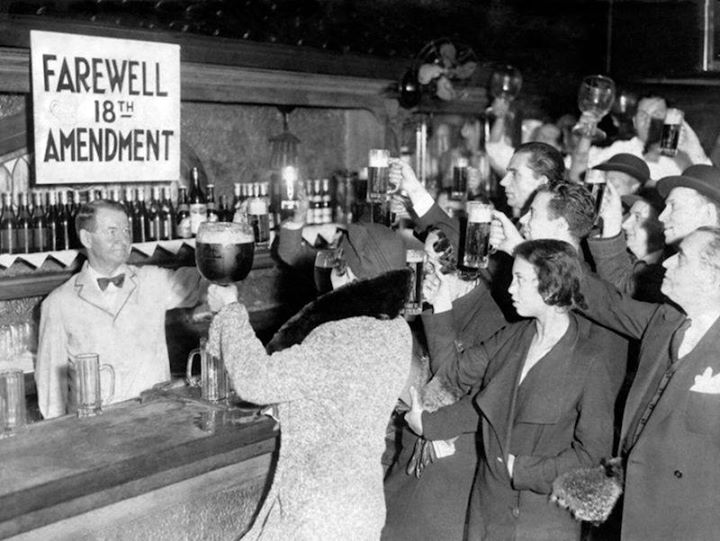 Old Forester Repeal Day Prohibition Party