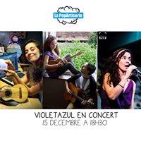 Violetazul en concert