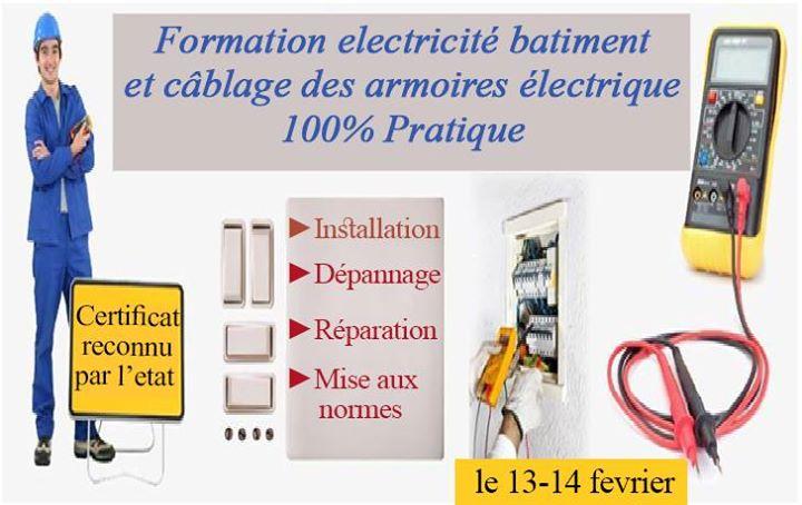 formation electricit batiment et c blage des armoires. Black Bedroom Furniture Sets. Home Design Ideas