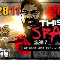 THIS IS SPASTA PARTY ON TOUR Vol.395  SATURDAY 28.11  AMMOS KEFALONIA