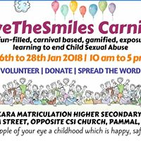 SaveTheSmiles Carnival on Prevention of Child Sexual Abuse