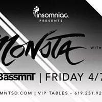 TOKiMONSTA x Insomniac Events at Bassmnt Friday 18