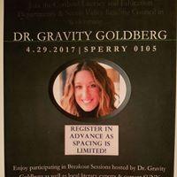 SUNY Cortland &amp Seven Valley Reading Council Present Gravity Goldberg