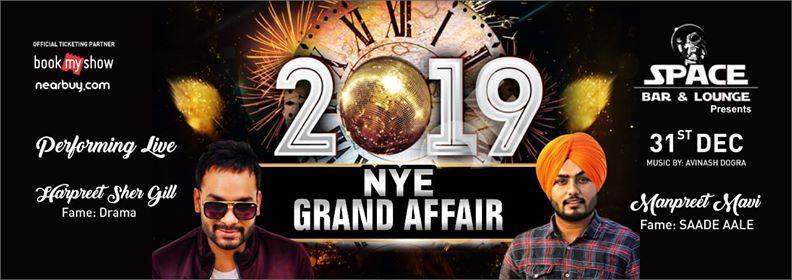 2019 Nye Grand Affair With Manpreet Mavi & Harpreet Shergill