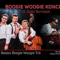 Boogie Woogie Koncert a X. Gyri Bornapokon