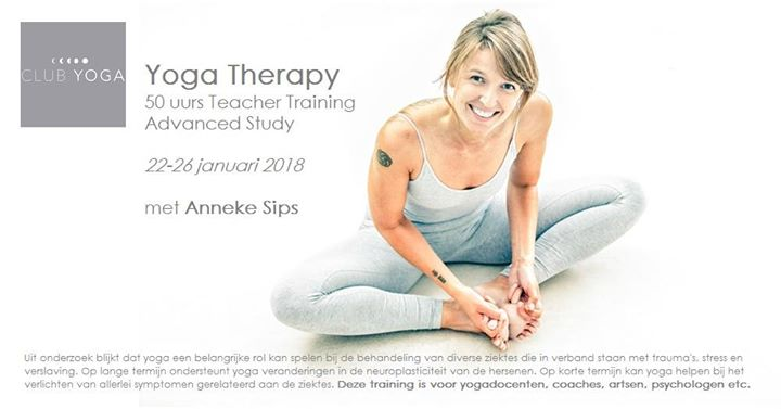 Yoga Therapy - Advanced study (50 hr) met Anneke Sips