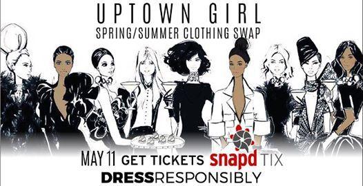 Uptown Girl SpringSummer Clothing Swap