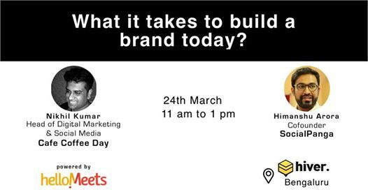 What it takes to build a brand today