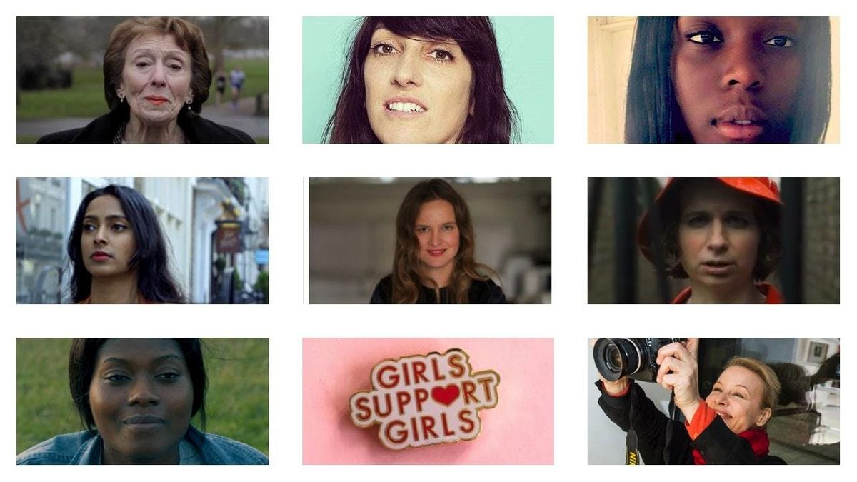She lives - female creator evening - short films poetry and music