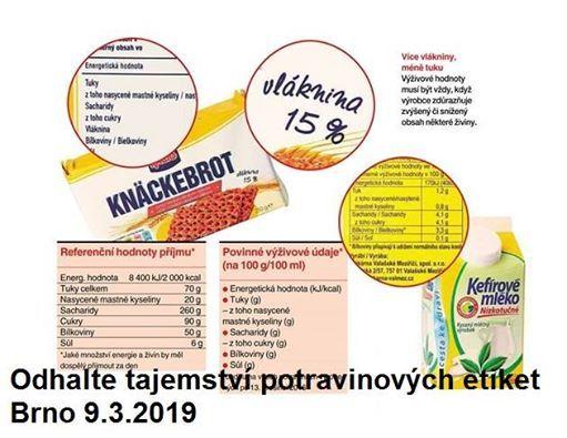 Odhalte tajemstv potravinovch etiket Brno