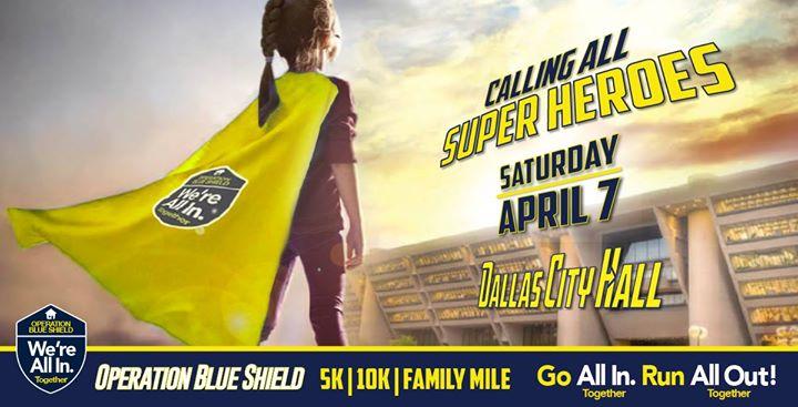 Operation Blue Shield 5k10k & Family Mile