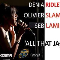 Concert Denia Ridley Trio