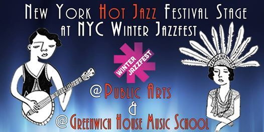 NY Hot Jazz Fest Stage at Winter Jazzfest 2019