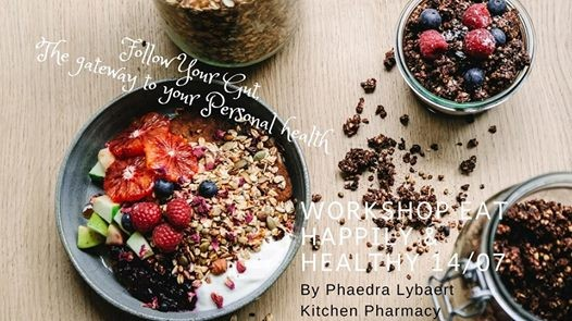 Workshop Eat healthfully and happily - Kitchen Phrmcy